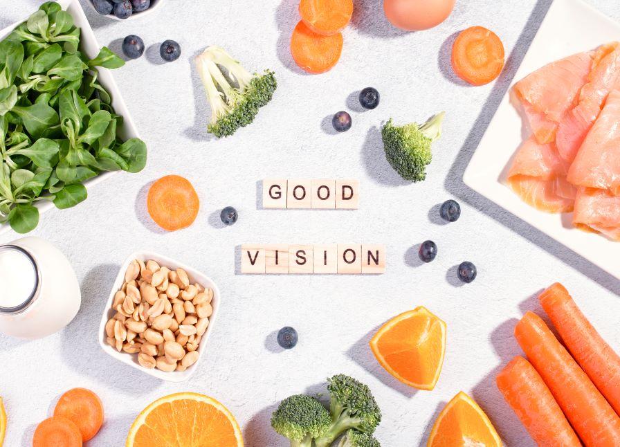 foods for healthy eyesight